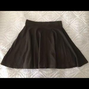 Pink Victoria's Secret flare mini skirt black XS